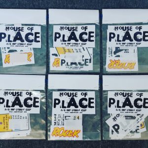 House of place - sticker pack - Trash industries - roser