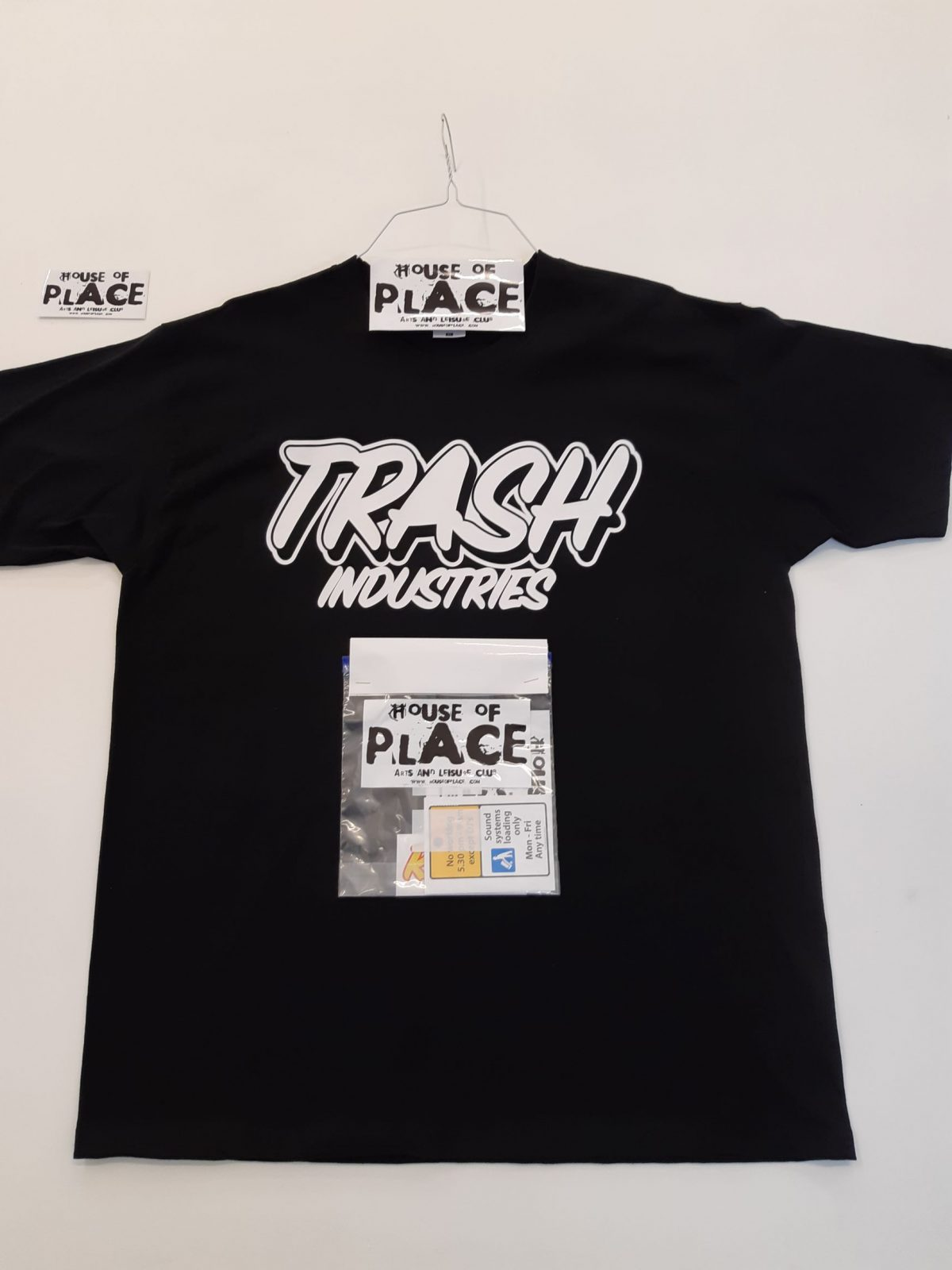 Trash Industries House of place T shirts Riot Sport