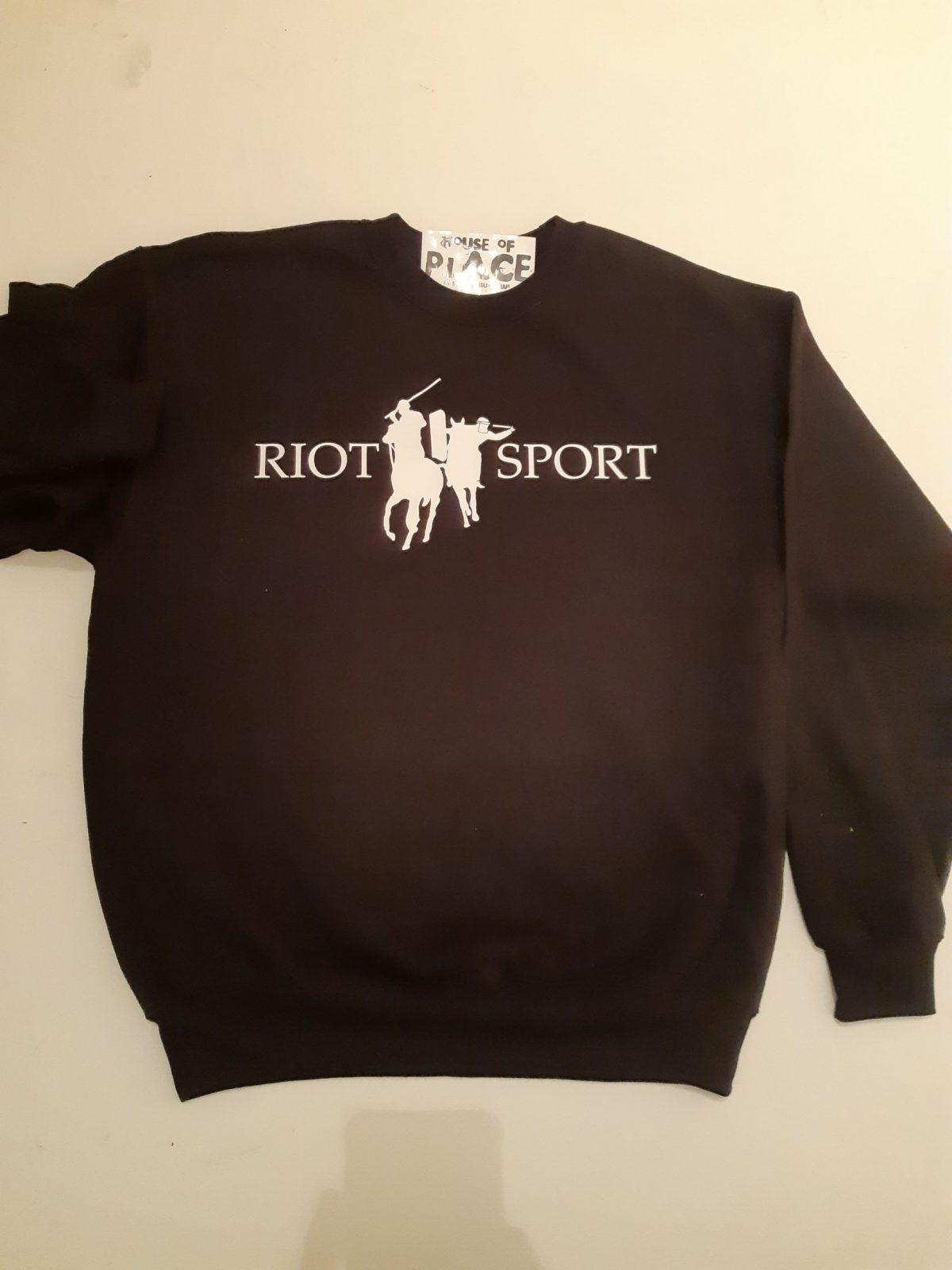 Riot sport Jumper - Houseofplace.com - For sale - Trash Industries - Clothintg Brighton Uk