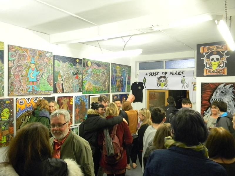 MUGGER HARRIS Show - Houseofplace.com Art Gallery Studios